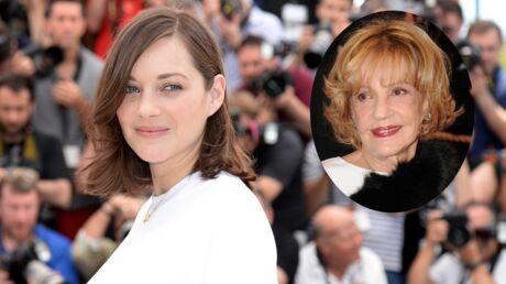 PHOTO Marion Cotillard rend un hommage très émouvant à Jeanne Moreau