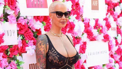 Fatiguée par sa forte poitrine, Amber Rose pense à se faire opérer des seins