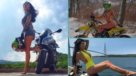 Une star d'Instagram, connue pour ses escapades déshabillées à moto, meurt dans un accident de la route