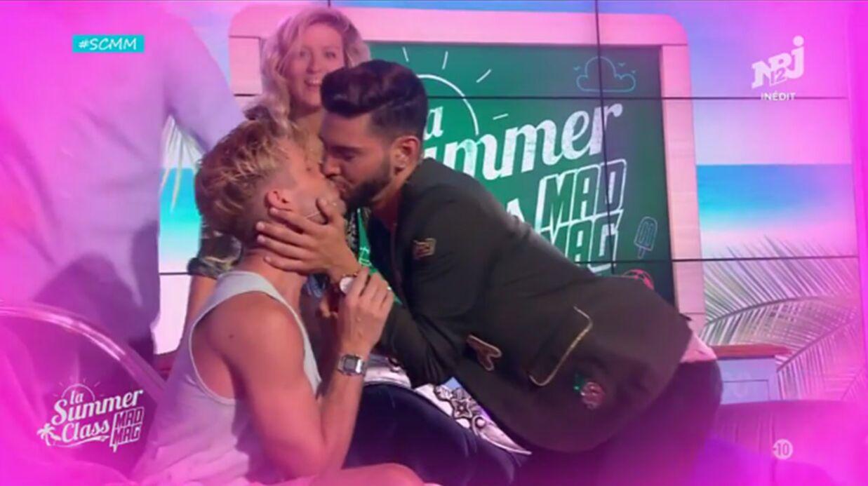 VIDEO Benoît Dubois et Sacha Buyse (Secret Story 8) échangent un baiser sur NRJ 12