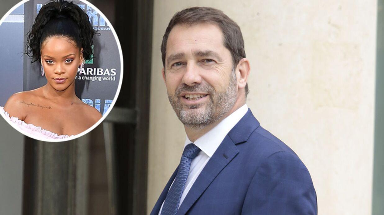 Christophe Castaner: le porte-parole de l'Elysée commente la tenue de Rihanna et se fait tacler