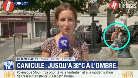 VIDEO Quand Francis Lalanne apparaît par hasard dans un reportage sur la canicule