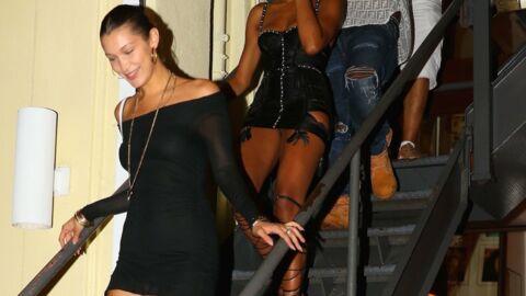 Quand Bella Hadid chute dans des escaliers et termine sur les genoux