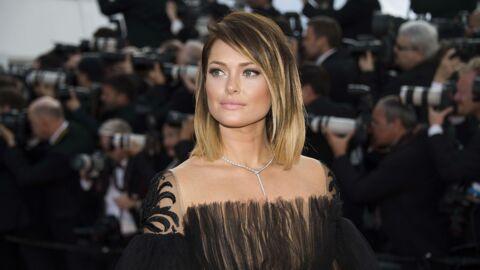 PHOTO Chaud! Caroline Receveur dévoile sa poitrine avec un haut transparent