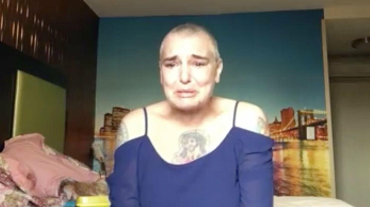 Sinead O'Connor: en détresse, la chanteuse suicidaire publie une vidéo sur Facebook