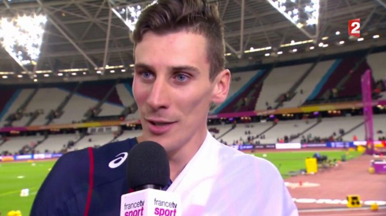 VIDEO L'interview très étrange de Pierre-Ambroise Bosse, champion du monde du 800 mètres