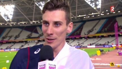 VIDEO L'interview très étrange de Pierre-Ambroise Bosse, champion du monde du 800 mètres