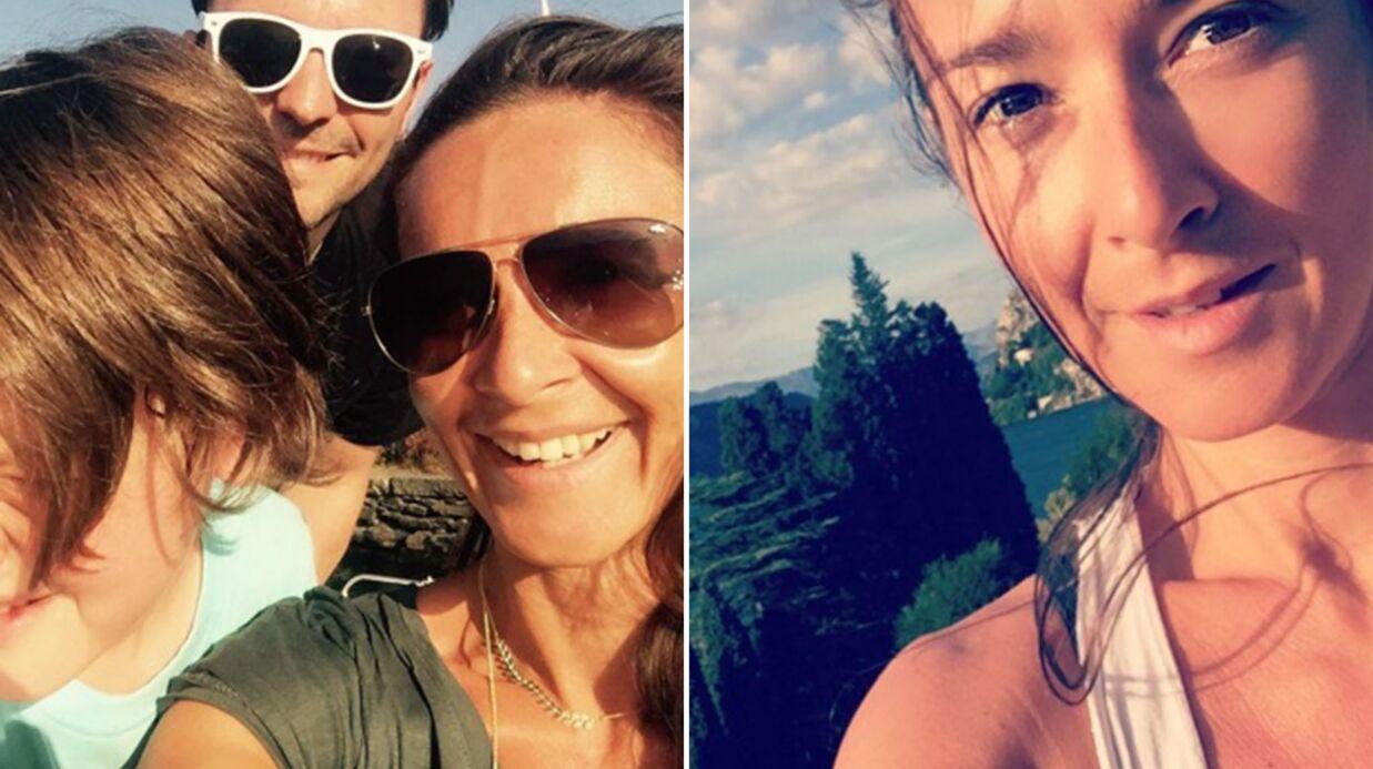 PHOTOS Emmanuelle Boidron s'éclate en vacances avec ses enfants et son mari