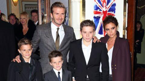 PHOTO La famille Beckham s'éclate sur le plateau de Modern Family