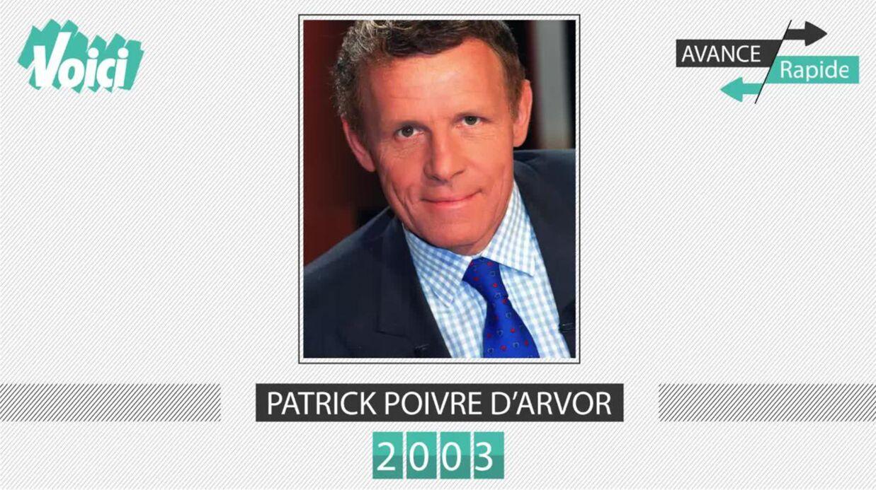 Spécial 30 ans de Voici – Patrick Poivre d'Arvor: son évolution physique en une minute