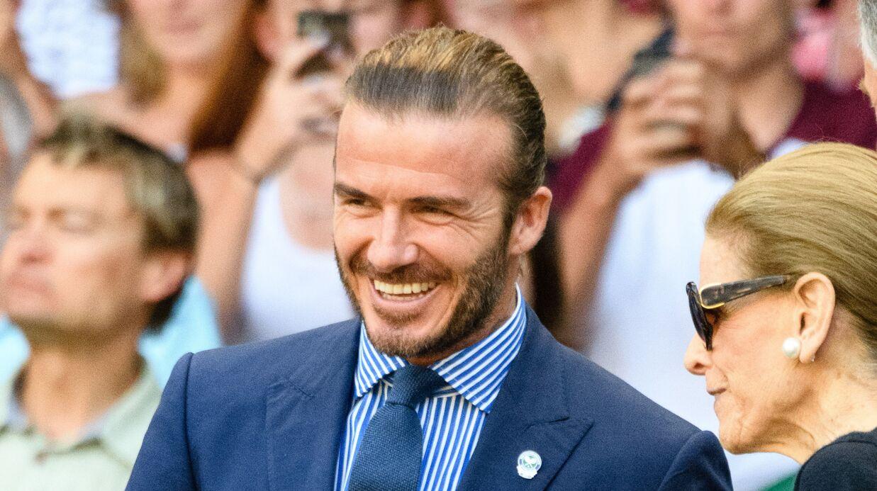 PHOTOS David Beckham a passé ses vacances à construire un château pour Harper