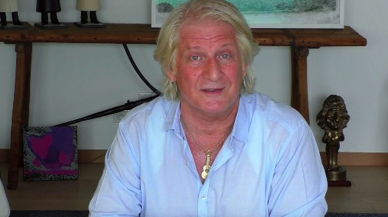 VIDEO Patrick Sébastien donne de ses nouvelles après son accident
