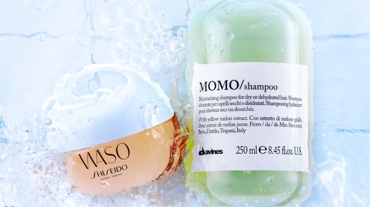 Nos beauty crushs: le soin Waso Shiseido et le shampoing Momo Davines