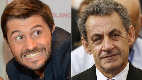 PHOTO Christophe Beaugrand repère Nicolas Sarkozy en classe éco dans un avion