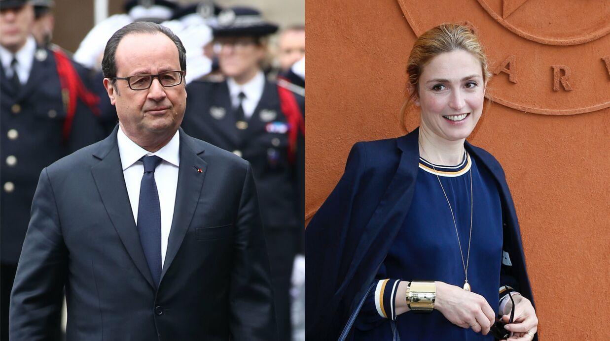 PHOTO En vacances, François Hollande et Julie Gayet posent (enfin) ensemble