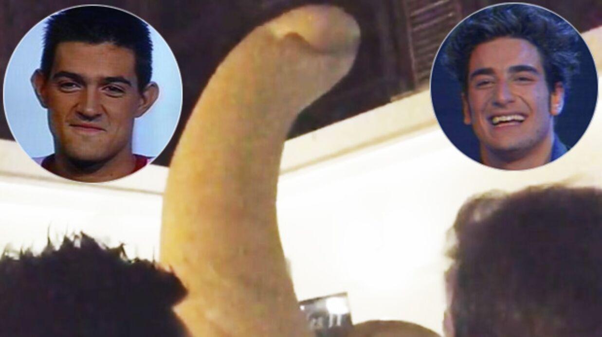 Star Academy: Jean-Pascal Lacoste retrouve Patrice Maktav et pose devant une sculpture de pénis