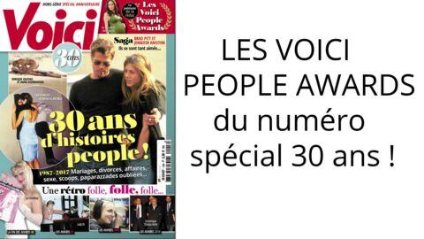 Les Voici people awards spécial 30 ans: celui des assistants les plus dévoués