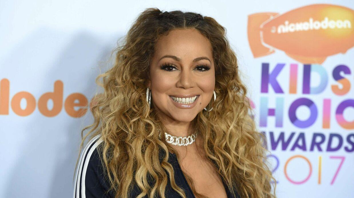 PHOTO Mariah Carey pose seins nus pour Paper Magazine