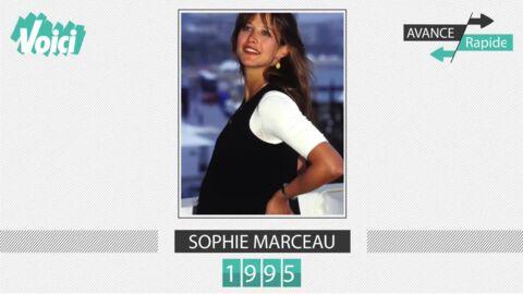 Spécial 30 ans de Voici – Sophie Marceau: son évolution physique en une minute