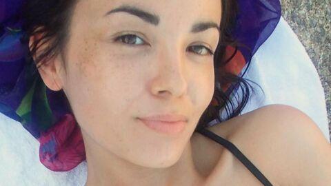 PHOTO Agathe Auproux sexy dans sa piscine, elle fait de l'humour