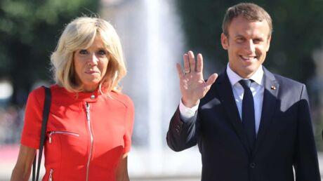 PHOTOS Brigitte Macron en petite robe rouge ou courte robe noire: carton plein à chaque sortie