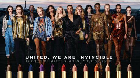 L'Oréal Paris x Balmain: la collab' beauté arrive le 1er septembre!
