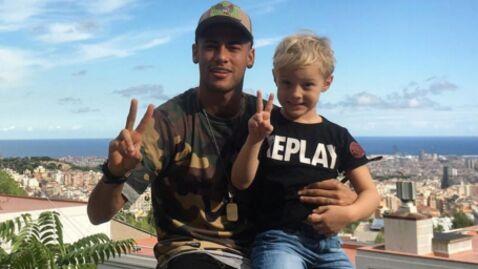 PHOTO Neymar: le bel anniversaire qu'il a organisé pour les 6 ans de son fils