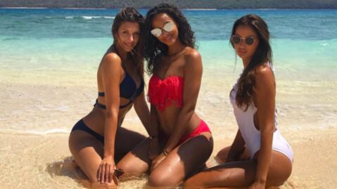 PHOTOS Camille Cerf, Flora Coquerel et Malika Ménard ultra sexy en maillot de bain à Mayotte