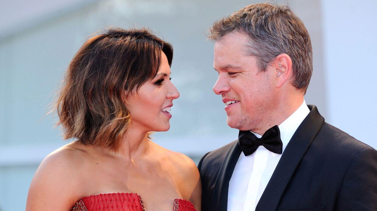 PHOTOS Mostra de Venise: Matt Damon et sa femme très amoureux, Anna Mouglalis sublime