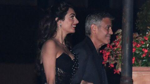 PHOTOS Amal Clooney sublime lors d'une soirée en tête-à-tête à Venise avec George