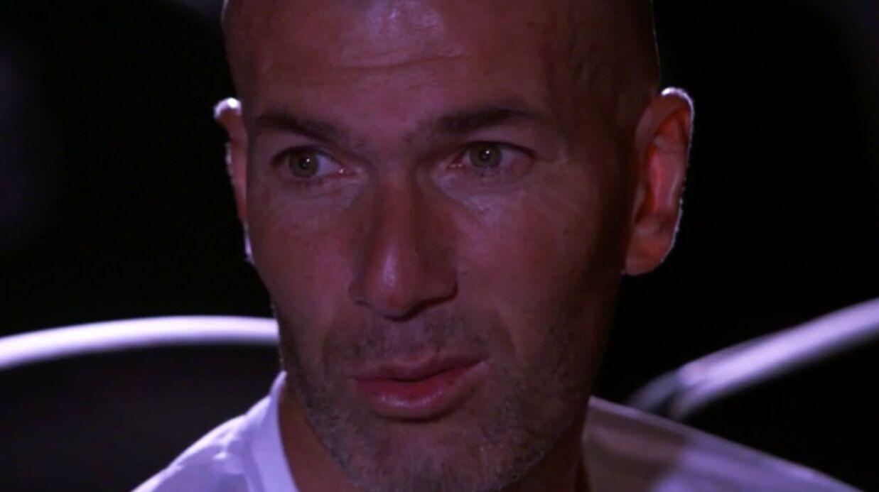 VIDEO Très ému, Zinédine Zidane évoque son histoire d'amour avec Véronique
