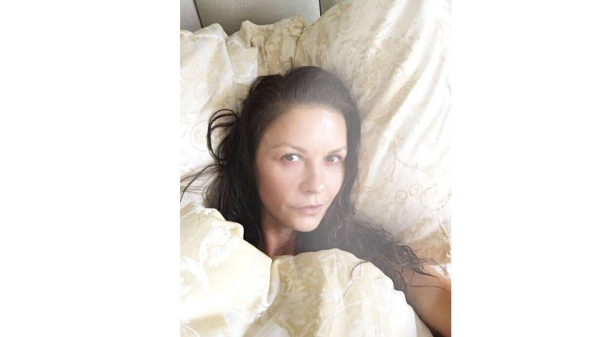 PHOTO Catherine Zeta-Jones pose sans maquillage et elle est divine