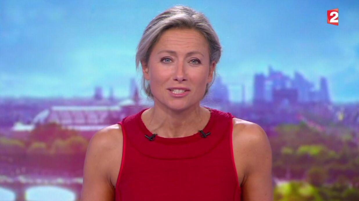 VIDEO La faute d'Anne-Sophie Lapix au 20 heures de France 2