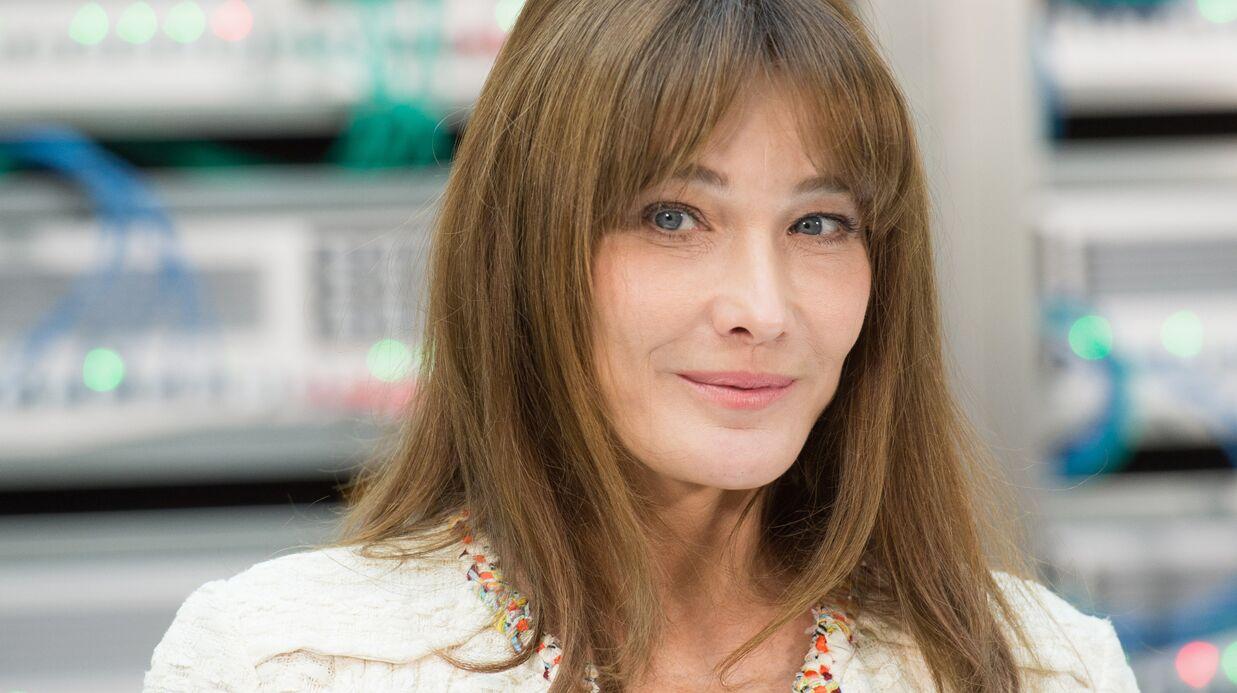 Carla Bruni-Sarkozy: émue, elle partage la rentrée des classes de sa fille Giulia