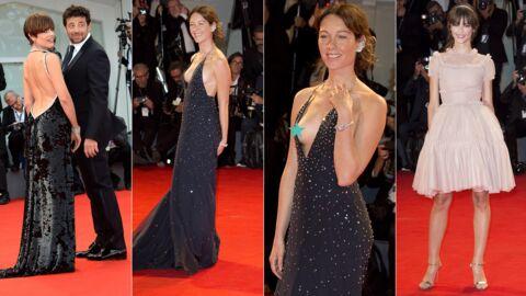 PHOTOS Mostra de Venise: une actrice dévoile un sein, la petite-fille de Jean-Paul Belmondo canon