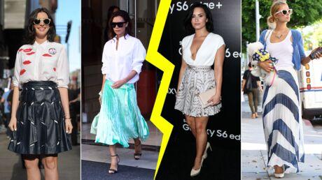 MODE Les do et don'ts de la semaine: le retour de la jupe plissée