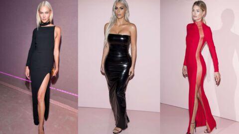 PHOTOS Doutzen Kroes et Karlie Kloss ultra sexy en robes fendues pour applaudir Tom Ford