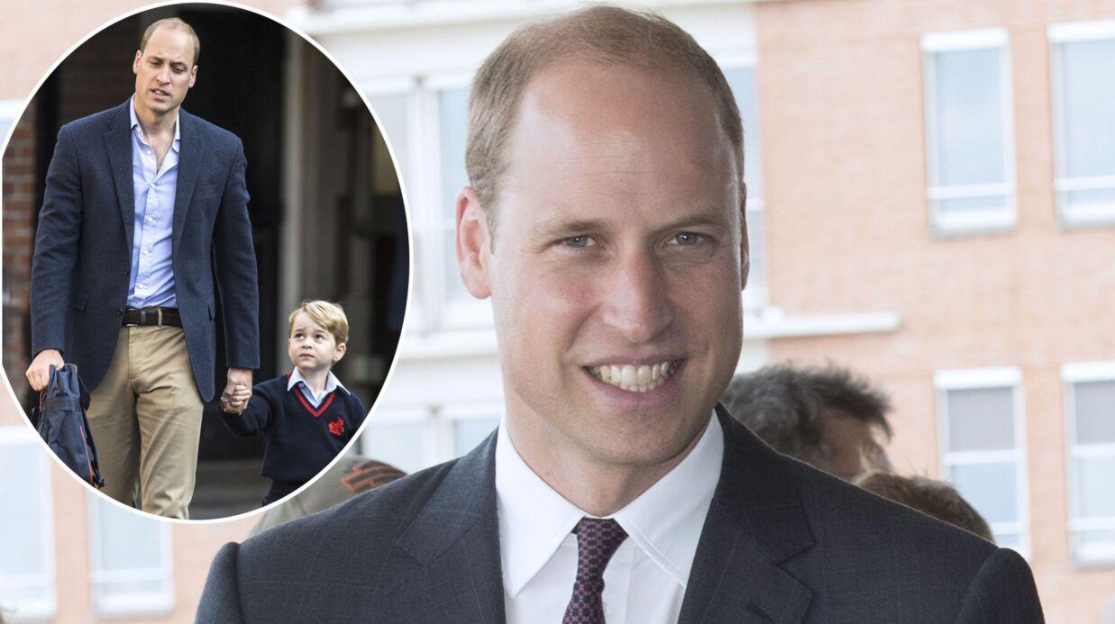 Le prince William très soulagé que la rentrée scolaire de George se soit bien passée et qu'il ait été sage