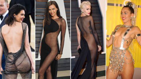PHOTOS Ces robes qui ne cachent VRAIMENT rien: les tenues de soirée les plus osées des stars