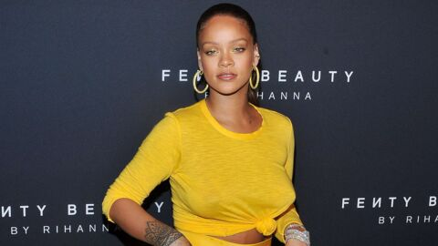 PHOTOS Rihanna plus belle et sexy que jamais dans un ensemble dévoilant sa poitrine
