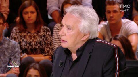 VIDEO Michel Sardou: désormais contre la peine de mort, il plaisante sur l'arme à feu qu'il a chez lui