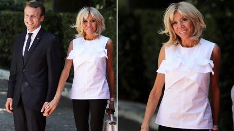 PHOTOS Brigitte Macron divinement élégante lors d'une visite officielle en Grèce
