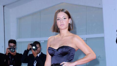 PHOTOS Mostra de Venise: Adèle Exarchopoulos illumine le tapis rouge dans une robe bustier très sexy