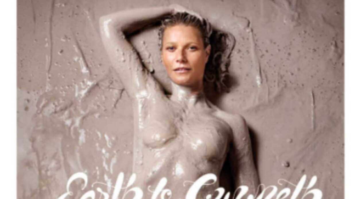 PHOTO Gwyneth Paltrow : l'actrice pose nue en couver­ture de son propre maga­zine