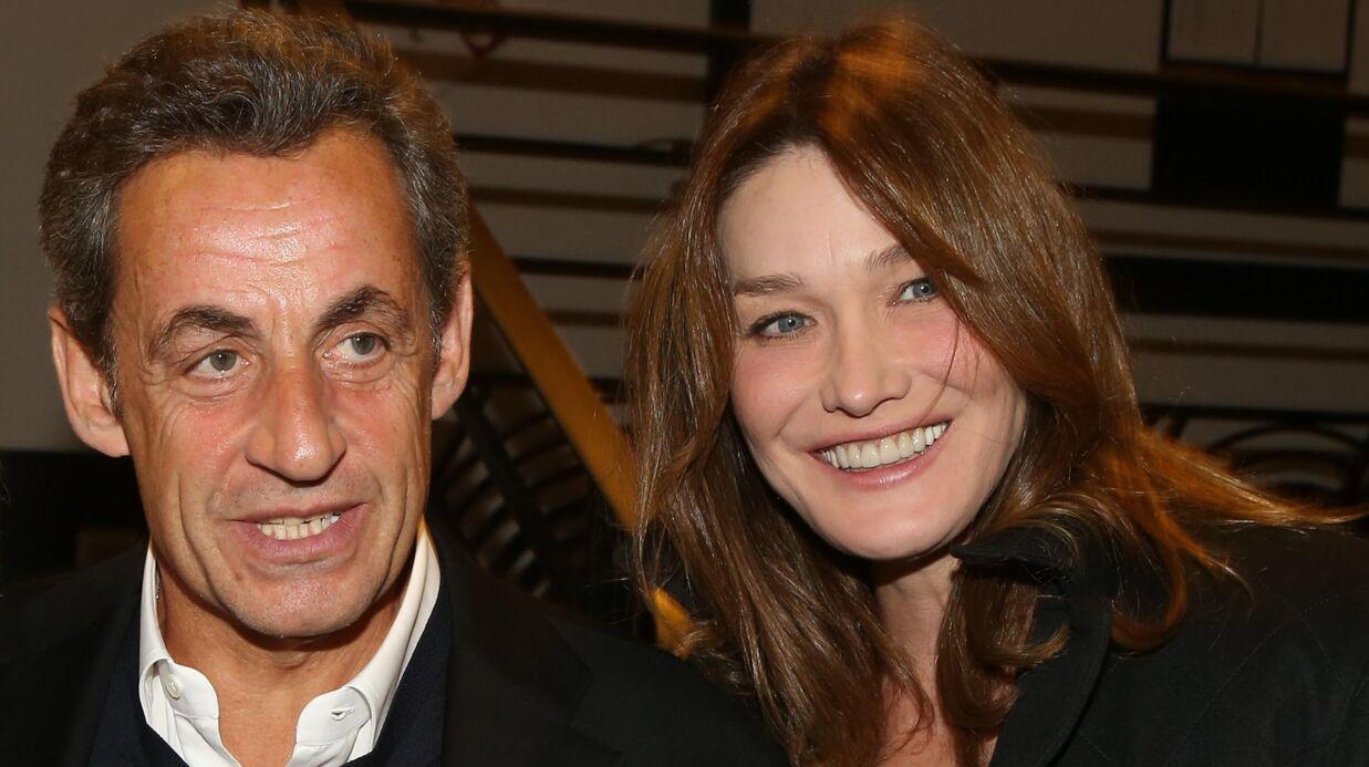 PHOTO Carla Bruni et Nicolas Sarkozy accueillent un nouveau venu dans la famille