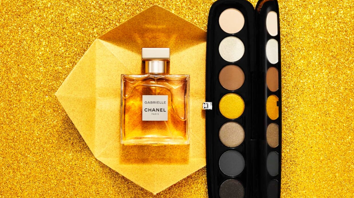 Nos beauty crushs : l'eau de parfum Gabrielle Chanel et la palette eye-conic Marc Jacobs