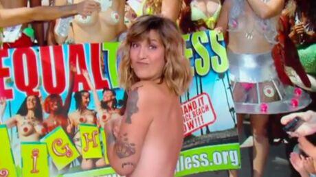 Daphné Bürki: critiquée après s'être affichée topless dans Je t'aime etc…, elle répond
