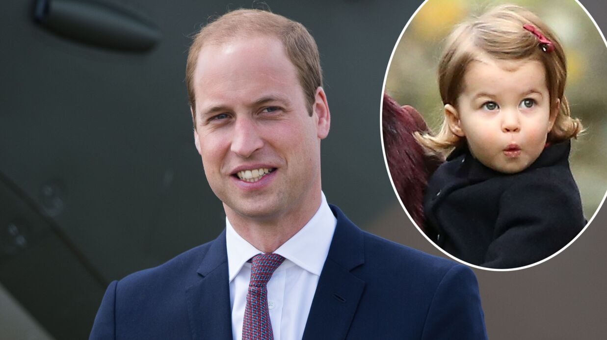 Le prince William pense que sa fille Charlotte risque de leur causer «des difficultés» en grandissant