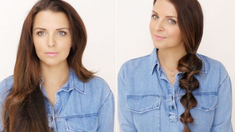 VIDEO Le tuto cheveux de Ludivine : 5mn pour une tresse « back to school »