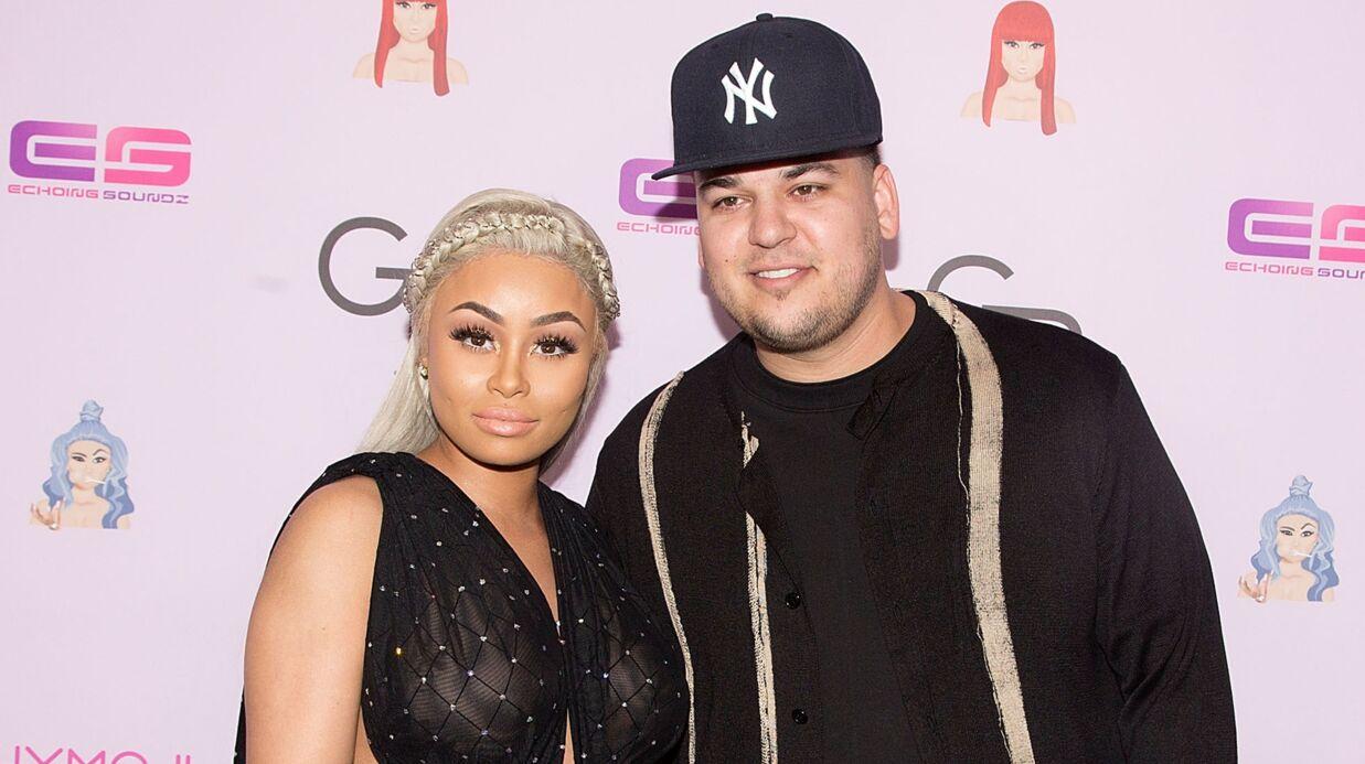 Rob Kardashian et Blac Chyna ont enfin trouvé un accord pour la garde de leur fille!